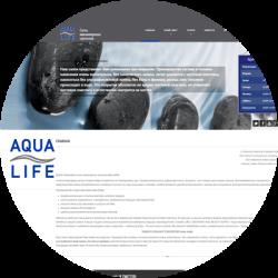 Сайт сети студий маникюра  Aqua Life
